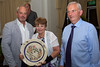Jim Delbridge presents the Guernsey Tourist Board Award to St Peter Port parish
