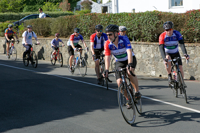 Rock to Rocque Bike Ride Heritage Group Rocquaine 240515 ©RLLord 2562 smg