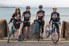 The Creme Anglaise team during the Rock to Rocque Bike ride around Guernsey