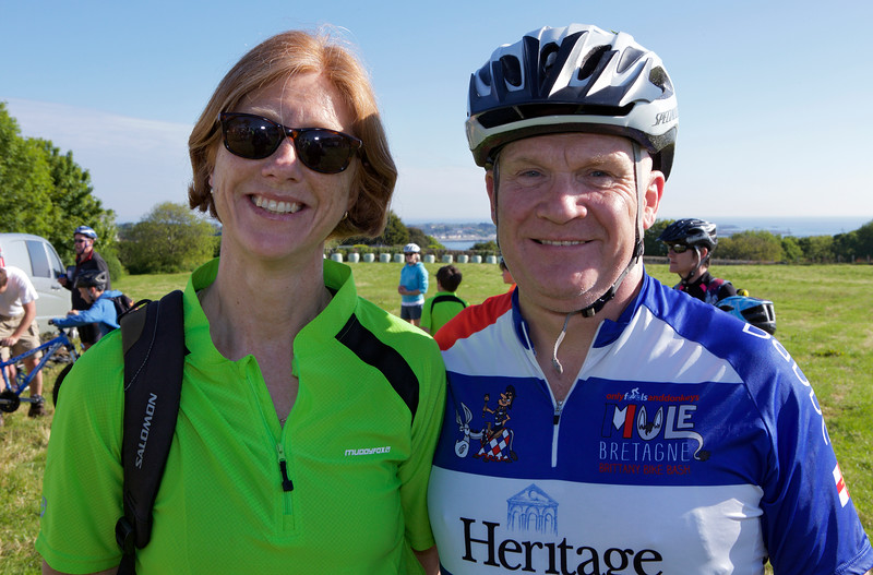 Rock to Rocque Bike Ride Philippa and Peter Stahelin 240515 ©RLLord 2459 full