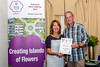 Forest Douzaine room receives Silver Gilt award at the 2016 Floral Guernsey Awards