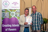 The parish of St Andrew wins a Gold award at the 2016 Floral Guernsey Awards for their St Andrew's Constables Office floral displays