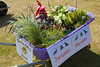 Monkey Puzzle school Floral Guernsey wheelbarrow competition entry