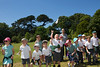 A Magical Day in the Park Amherst Primary school pupils throwing helicopters 100714 ©RLLord 4177 smg