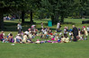 Picnic and lunch break during Floral Guernsey's 'Magical Days in the Park'