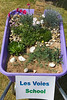 Les Voies School Floral Guernsey wheelbarrow competition entry