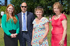 Katy Sandrey and Paul Matthews of Ravensroft with Mrs Lynda Walker and Ann Wragg