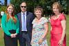 Katy Sandrey and Paul Matthews of Ravensroft with Mrs Lynda Walker and Ann Wragg