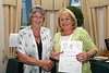 Floral Guernsey Awards Jean Griffin to St Saviours Douzaine room 160714 ©RLLord 4759 smg