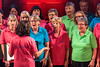 Guernsey Mind Hope Singers performing during the 2017 Community Awards at St James Concert and Assembly Hall, St Peter Port, Guernsey