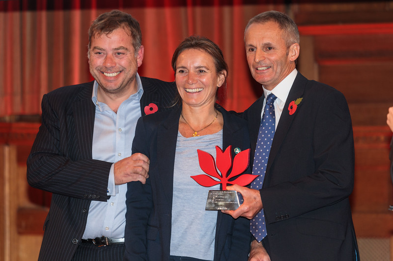 RBC Wealth Management presents The Channel Islands Co-operative with the CSR Award at the 2017 Community Awards