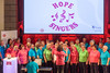 Guernsey Mind Hope Singers singing during the 2017 Community Awards at St James Concert & Assembly Hall