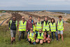 Guernsey Recycling Officer Tina Norman Ross gives tour of Mont Cuet landfill site to Dutch charity 'By the Ocean we Unite'