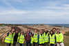 By the Ocean We Unite members visit the Mont Cuet landfill site in Guernsey