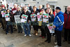 Suez energy from waste protest on steps of Royal Court Guernsey 240210 9832 smg