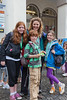Dr Jenny Turner with children who have completed 2012 Guernsey World Aid Walk