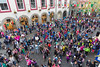 Guernsey World Aid Walk walkers congregate in Market Square, St Peter Port for the start