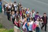 World Aid Walk walkers Les Banques 040515 ©RLLord 9458 smg