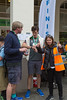 Guernsey World Aid Walk finish in Market Square, St Peter Port