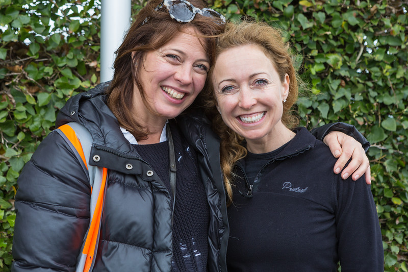 Guernsey World Aid Walk chair with Lindsey Davies