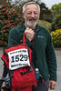 Guernsey World Aid Walk walker Alan Ritchie arrives at Vale Douzaine Room