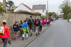 Guernsey World Aid Walk walkers on Grandes Maison Road