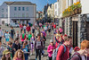 Guernsey World Aid Walk walkers Le Truchot St Peter Port 060513 ©RLLord 8987 smg