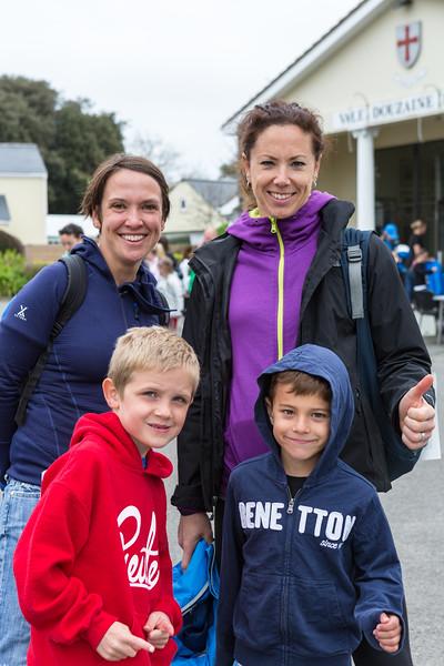 2016 Guernsey World Aid Walk walkers arrive at Vale Douzaine Room