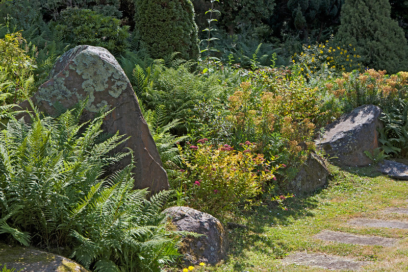 The Sunken Garden in St Peter Port, Guernsey on 24 June 2014