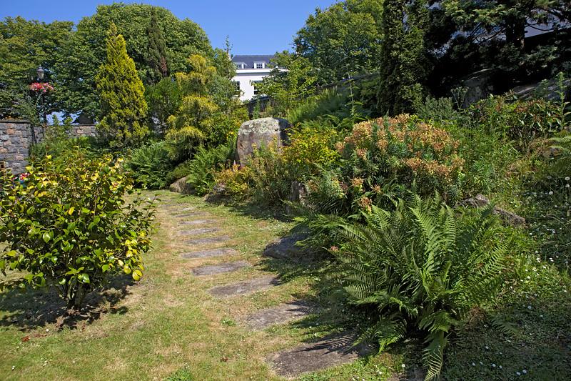 The Sunken Garden in St Peter Port