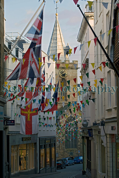 St Peter Port High Street, Guernsey