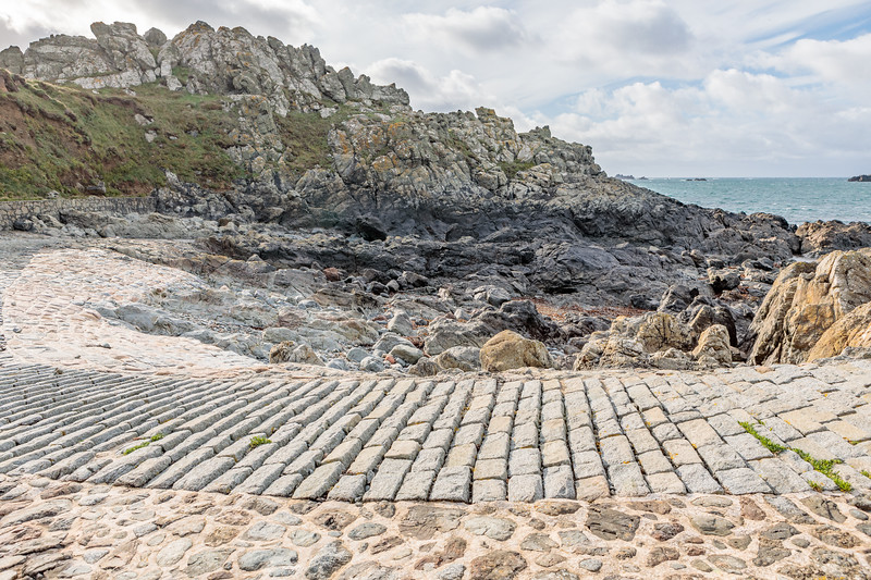 A Pleinmont bay on Guernsey's south-west coast on 9th October 2020