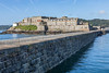 Castle Cornet and Castle Breakwater from the lighthouse