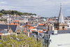 St Peter Port town centre from the Mignot Plateau