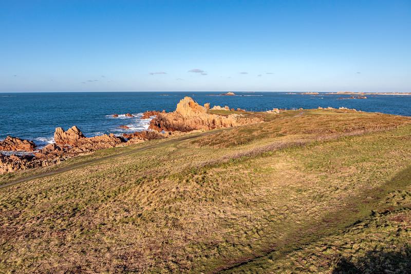 Guernsey west coast from Fort Hommet headland
