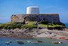 Fort Grey Shipwreck Museum in Rocquaine Bay on Guernsey's west coast
