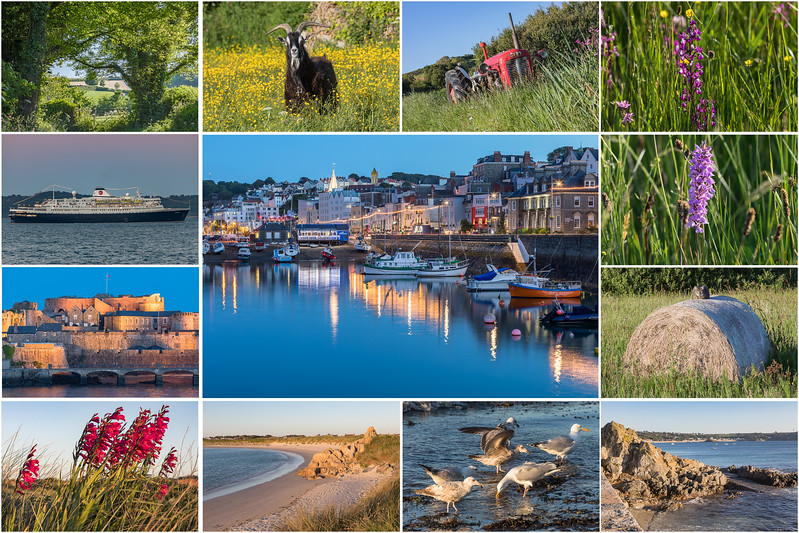 2015 M05 250517 bicycle ride around Guernsey scenes