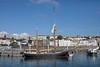 Queen Galadriel moored in St Peter Port harbour, Guernsey