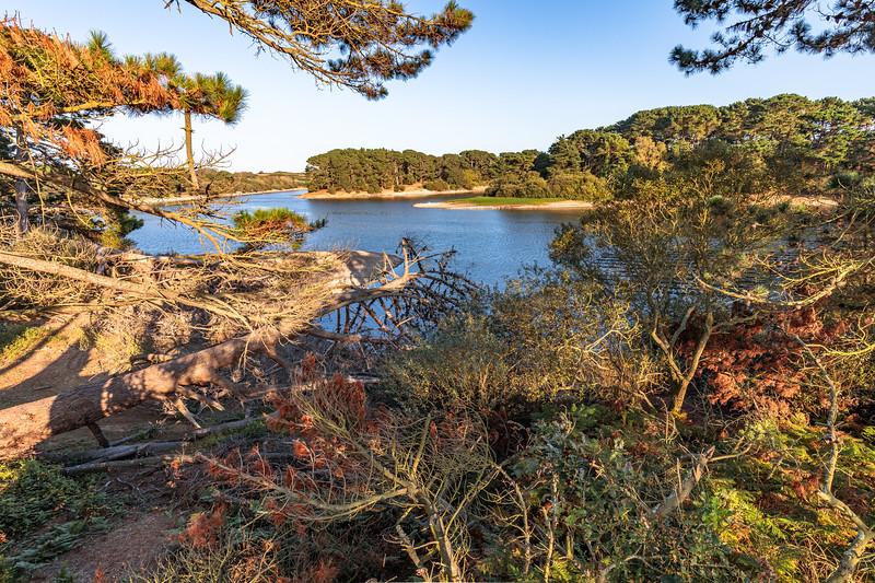 View of St Saviour Reservoir, Guernsey