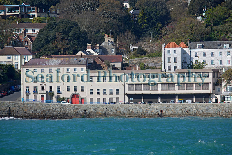 The old brewery on Havelet Bay, St Peter Port, Guernsey
