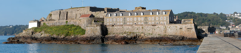 Castle Cornet, St Peter Port from the lighthouse