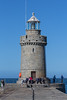 Castle Breakwater lighthouse with fishermen 030615 ©RLLord 3671 smg