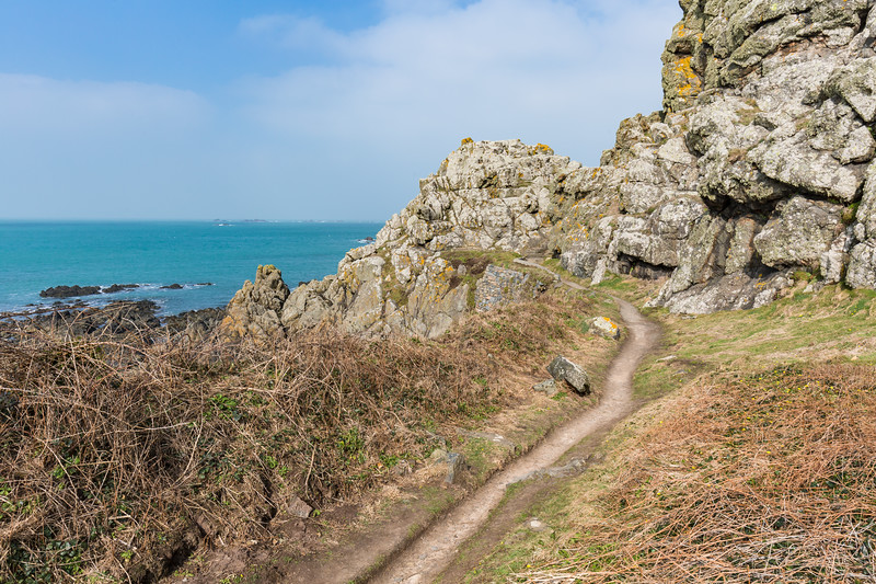 Torteval parish cliff path, Guernsey
