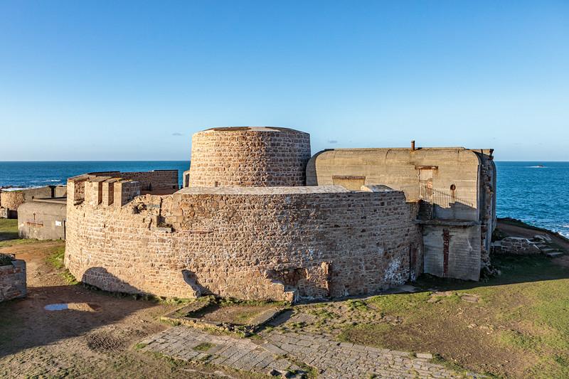 Fort Hommet on Guernsey's west coast