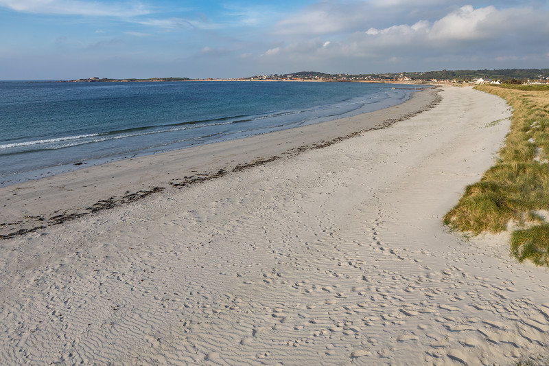 Vazon Beach on Guernsey's west coast on 12 May 2017