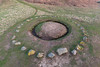 La Table des Pions (Fairy Ring) in Torteval, Guernsey