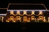 Queux Manor, Guernsey lit up on Christmas Day 2008<br /> File No. 251208 101<br /> ©RLLord