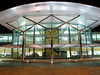 I like the symmetry of the Guernsey airport terminal building, which I find more appealing at night.  <br /> Photographed on 16 November 2006<br /> File No. 161106 4536<br /> ©RLLord<br /> fishinfo@guernsey.net