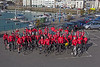 Ian Browns 30in30 Cycle Challenge cyclists Crown Pier 260414 ©RLLord 0973 smg