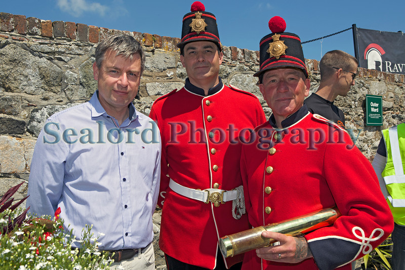 Castle Cornet Culture and Leisure department Clive Martin Ian Colin Mucklow 310514 ©RLLord 8936 smg